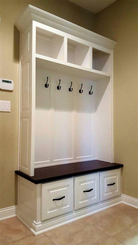 pin  kim cohen    home mudroom closet drawers
