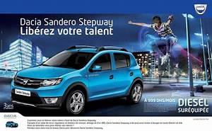 Dacia Sandero Stepway 4x4 Prix : promotion dacia sandero stepway maroc prx partir de dh promotion au maroc ~ Gottalentnigeria.com Avis de Voitures