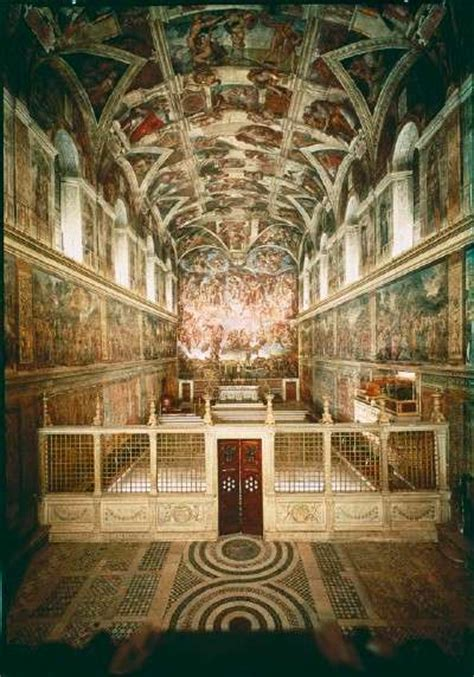 Painted The Ceiling Of The Sistine Chapel In Rome by Sistine Chapel Michelangelo Paintings Howstuffworks