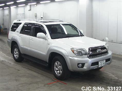 2007 toyota hilux surf 4runner pearl 2 tone for sale stock no 33127 used cars