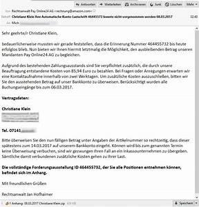 Abrechnung Pay Online24 Gmbh : rechtsanwalt pay online24 ag mahnung von rechtsanwalt jan hofhaimer im auftrag der pay ~ Themetempest.com Abrechnung