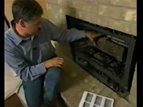 replace  wood burning fireplace  gas