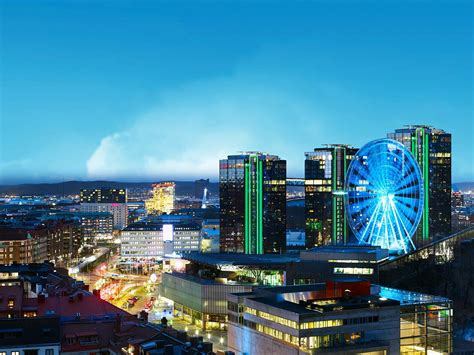 Bunun yanı sıra şehrin sınırları dahilinde kabul. Gothia Towers Hotel Göteborg - Ferie i Sverige