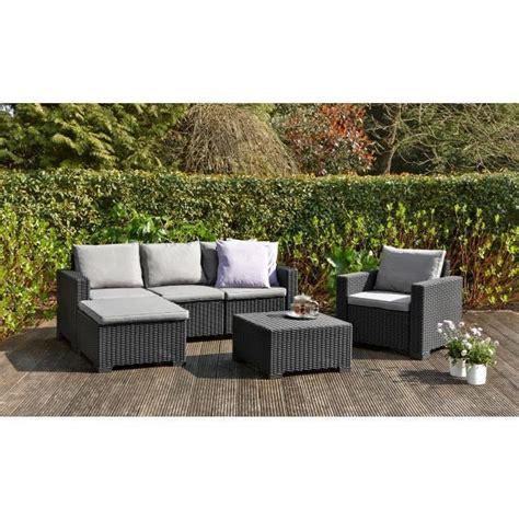 fauteuil salon de jardin pas cher meuble de jardin en resine reference maison