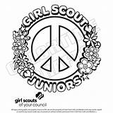 Scout Juniors Scouts Pages Junior Coloring Sheets Printables Brownie Activities Printable Daisy Crafts Bing Shirts Boy Related Troop Colortime Swap sketch template