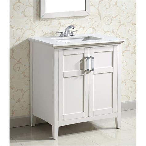 simpli home   winston bath bathroom vanity  white