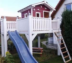 die besten 25 spielhaus ideen auf pinterest hinterhof With französischer balkon mit spielhaus garten kinder