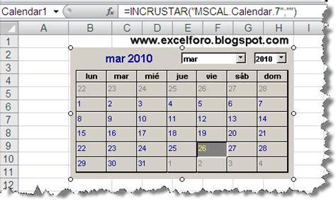 Como Introducir Un Template En Xhtml by Excel Insertar Un Calendario Apexwallpapers
