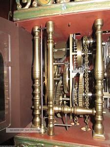 Grosse Wanduhren 80cm : rar 80cm gr alte friesische stuhluhr stoelklok meerweibchenuhr wanduhr clock ~ Indierocktalk.com Haus und Dekorationen