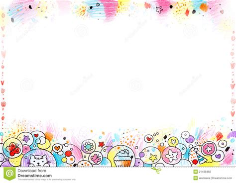 cute childrens background stock photography image