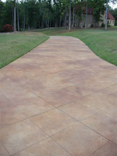 25 best ideas about stained concrete driveway on