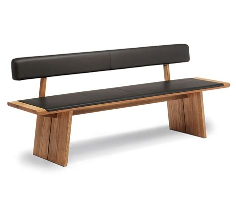 Padded Wooden Bench by Bench Design Wooden Bench With Backrest Garden Bench