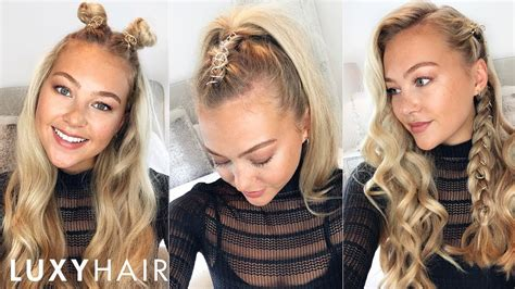 Hairstyles Hair by 3 Easy Hairstyles Using Hair Rings Festivals