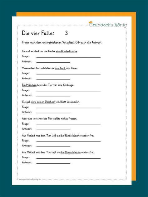 die  faelle   lernen unterrichten deutsch lernen