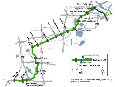 light rail mn green line southwest light rail green line extension biersdorf