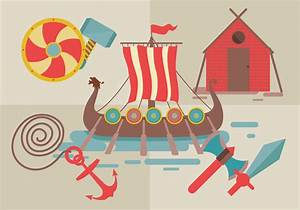 Viking Ship Vector - Download Free Vector Art, Stock ...