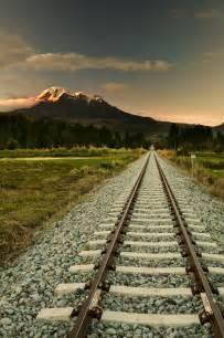Track Railroad Mountain
