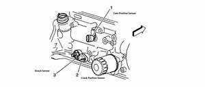 Where Is The Knock Sensor On A 2000 Chevy S10  2 2  4 Cyl