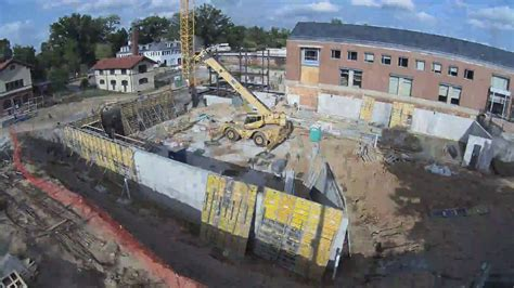 Browning Hall Construction Time Lapse   Final - YouTube