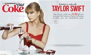 Diet Coke: Be Sleek and Skinny Just Like Taylor Swift ...