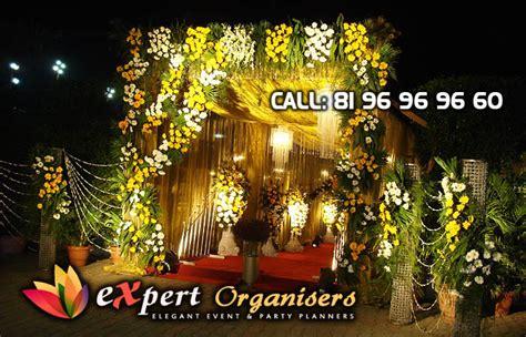 Indian Wedding Entrance Decoration by Expert Flower Decorators Chandigarh Theme Decorators
