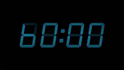 Second Countdown Digital 60 Display Seconds Clock