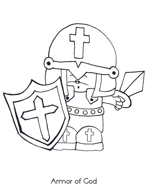 armor of god coloring pages bible coloring pages for sunday school lesson