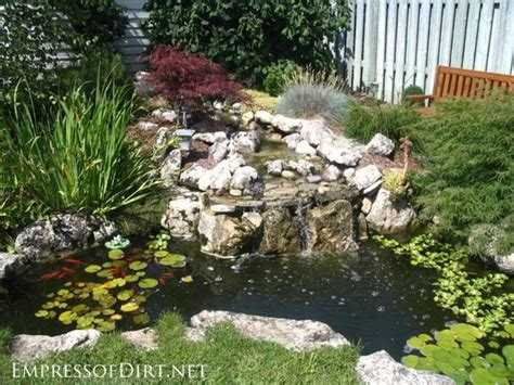 pond ideas 17 beautiful backyard pond ideas for all budgets empress of dirt