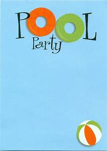 Free Printable Pool Party Flyers : DIY A Simple Pool Party