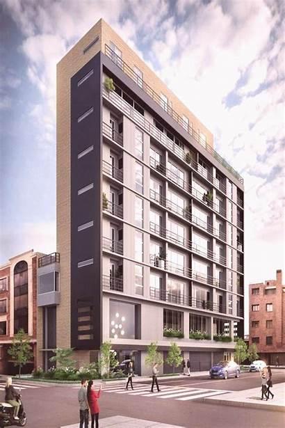 Architecture Building Facade Proyecto Elevation Bogot Vivienda