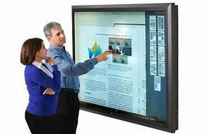 Video: World's biggest touchscreen display is 82-inch ...