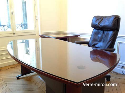 recouvrir bureau protection de table en verre trempe