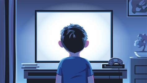 ninos  pasan horas frente  pantallas tienen menos