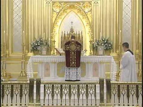 roman catholic mass explained youtube