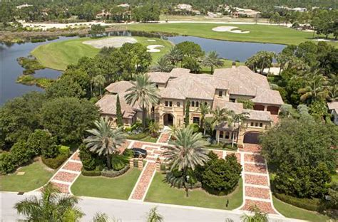 7 8 million mediterranean golf club mansion in palm