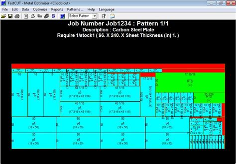 fastcut optimizer rectangular linear ctl fastcam