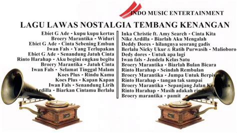 Lagu Kenangan Indonesia Terpopuler