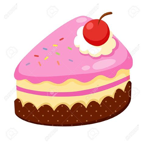 Cake Clipart by Vanilla Cupcake Clipart Strawberry Cake Pencil And In