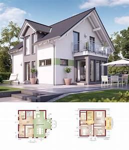 Modernes Haus Grundriss : einfamilienhaus haus solution 125 v4 living haus ~ Lizthompson.info Haus und Dekorationen