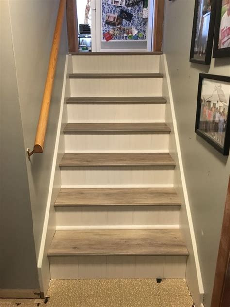 vinyl flooring on stairs vinyl planks the o jays and stairs on pinterest