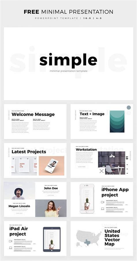 simple powerpoint templates 40 free cool powerpoint templates for presentations