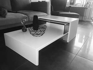 Couchtisch Weiß Glas : h lsta couchtisch tisch schwarz wei glas in mannheim couchtische kaufen und verkaufen ber ~ Eleganceandgraceweddings.com Haus und Dekorationen
