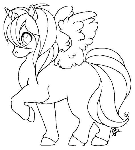 unicorn template free winged unicorn template by jenzgu on deviantart