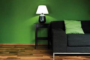 Combination, Of, The, Green, Color, In, The, Interior