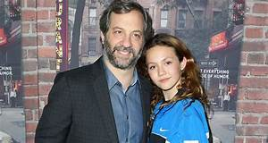 Judd Apatow Brings Daugther Iris To Premiere Of His New ...