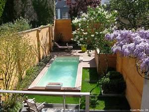 piscines des couloirs de nage pour nager tout l39ete With piscine avec liner gris clair 6 mini piscine enterree urbaine petite taille caron