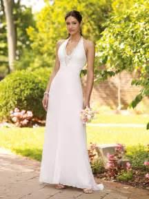 simple informal wedding dresses simple halter wedding dress sang maestro