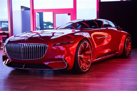 Maybach Car : Vision Mercedes-maybach 6 Concept Car