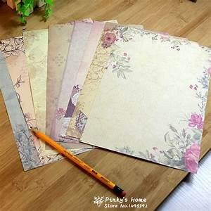 aliexpresscom acheter 10 feuilles set europeenne With letter writing paper sets