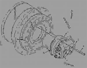 1077028 Motor  U0026 Mtg Group-travel - Excavator Caterpillar 320c L